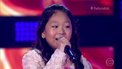 Kaori Yokota canta 'You Raise Me Up' no 'The Voice Kids'