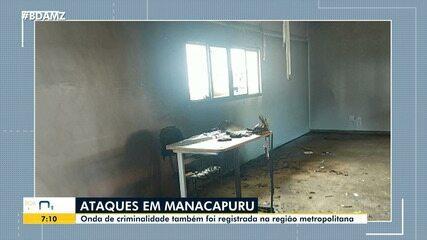 Ações criminosas são registradas em Manacapuru, no Amazonas