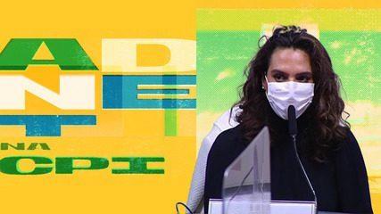 'Ela diz que é técnica - uma ameaça pro Tite' - trecho do episódio 2 de Adnet da CPI