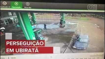 Motorista é preso com 250 kg de maconha após perseguição em Ubiratã, diz PRF; VÍDEO