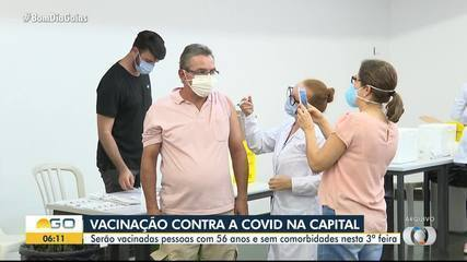 Goiás recebe nova remessa da vacina da Pfizer para usar como 1ª dose