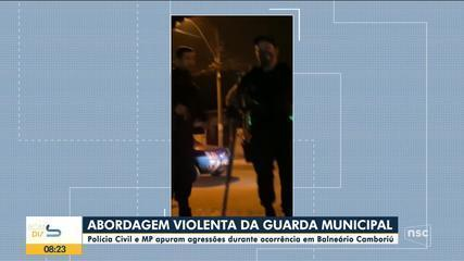 Polícia e MP apuram agressões durante ocorrência com guardas em Balneário Camboriú