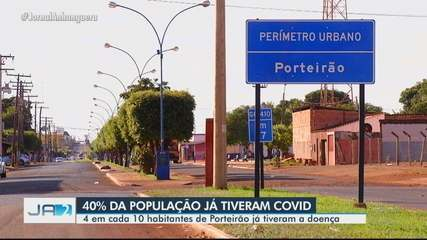 Porteirão é a cidade com maior incidência de casos de Covid-19 em Goiás
