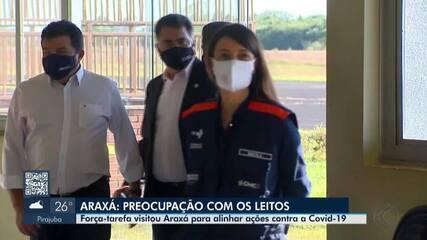 Equipe da SES-MG faz visita técnica para analisar cenário da pandemia em Araxá