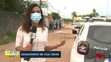 Homem foi assassinado em Vila Velha