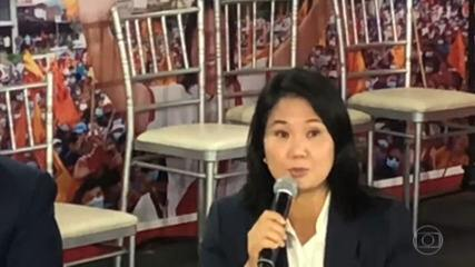 Keiko Fujimori has called for the cancellation of 200,000 votes in Peru's election