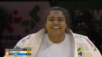 Maria Suelen conquista a medalha de bronze no Mundial de Judô