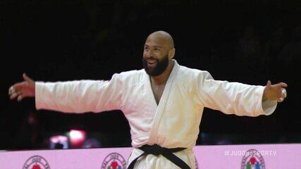 Rafael Silva leva terceira punição e perde o bronze para o holandês Roy Meyer no Mundial de Judô