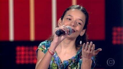 Isadora Lázaro canta 'Estrada do Sol'