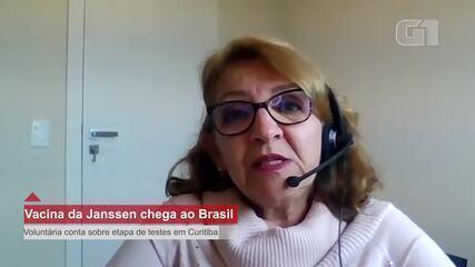 Voluntária da etapa 3 da Janssen em Curitiba fala do processo de pesquisa