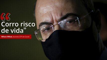 VÍDEO: Witzel diz à CPI da Covid que milícia está atrás da máfia da saúde no RJ: 'Corro risco de vida'