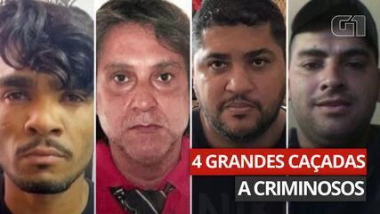 4 grandes caçadas a criminosos