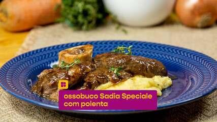 Ossobuco Sadia Speciale com polenta: veja como preparar
