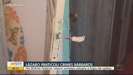 Lázaro Barbosa é investigado por crimes bárbaros
