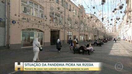 El gobierno ruso dice que la epidemia está empeorando en el país