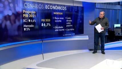 Carlos Alberto Sardenberg analisa a projeção de crescimento do PIB anunciada pelo Banco Central