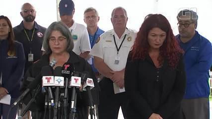 Video: Il sindaco di Miami si emoziona quando parla delle vittime della valanga