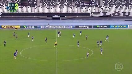 Melhores momentos: Botafogo 3 x 3 Cruzeiro pela 11ª rodada do Brasileiro Série B