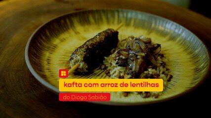 Diogo Sabião ensina a fazer Kafta com arroz de lentilha