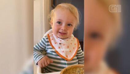 VÍDEO: Menina de 2 anos viraliza falando palavras difíceis