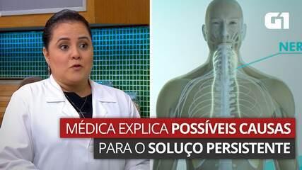VÍDEO: Médica explica possíveis causas para o soluço persistente