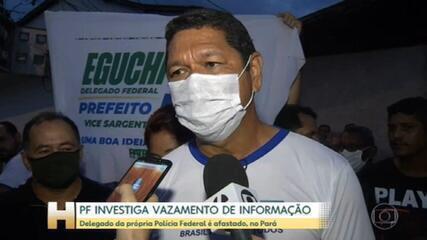 Operação da PF investiga vazamento de informações no Pará