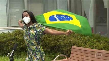 Ketleyn Quadros e Bruninho serão os porta-bandeiras do Time Brasil em Tóquio