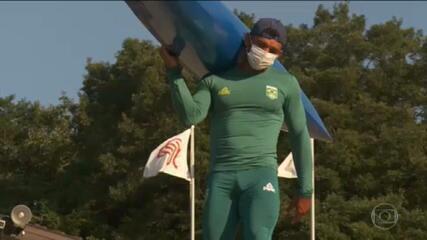 Isaquias Queiroz já treina em Tóquio para as Olimpíadas