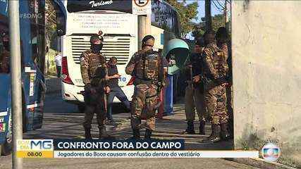 Delegação do Boca Juniors presta depoimento na Polícia Civil
