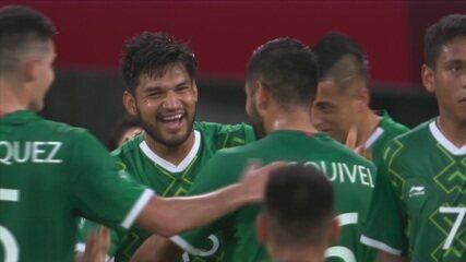 Os gols de México 4 x 1 França pelo futebol masculino nas Olimpíadas de Tóquio 2020