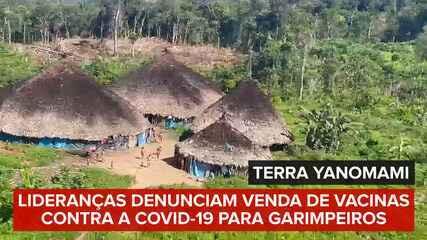 Terra Yanomami: Lideranças denunciam venda de vacinas contra a Covid-19 para garimpeiros