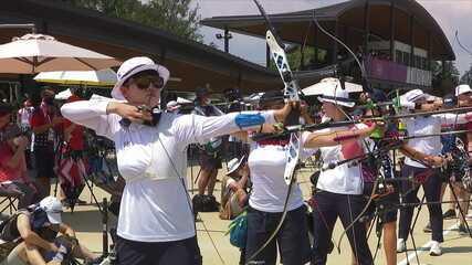 Tiro com Arco: Sul-coreana San An marca 680 pontos e quebra recorde olímpico nos Jogos de Tóquio