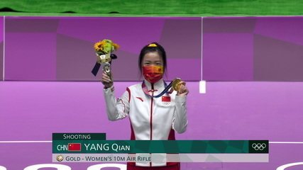 Chinesa Qian Yang leva o primeiro ouro das Olimpíadas Tóquio 2020, no tiro esportivo