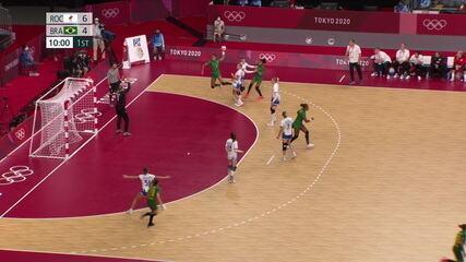 Melhores momentos: ROC 24 x 24 Brasil pelo handebol feminino nos Jogos de Tóquio