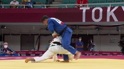 Eduardo Barbosa perde para atleta francês e é eliminado do Jogos de Tóquio