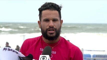 Ítalo Ferreira se vê pronto para jogo mental nas quartas do surfe em Tóquio