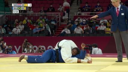 Ketleyn Quadros perde para holandesa e não vai disputar o bronze