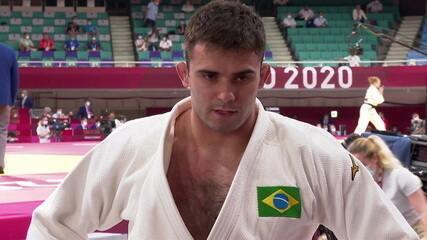 Rafael Macedo é derrotado em 30 segundos no judô e está fora das olimpíadas