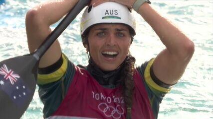 Jessica Fox confirma o favoritismo e conquista o ouro no c1 da canoagem slalom
