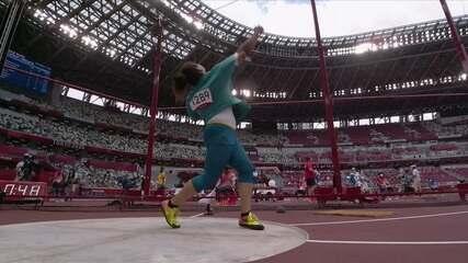 Izabela da Silva lança disco na marca de 61.52m na segunda tentativa
