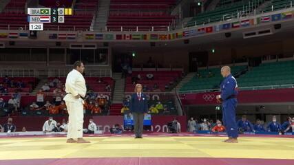 Baby recebe terceiro shido e Brasil perde para Holanda - Olimpíadas de Tóquio