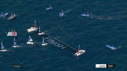 Melhores momentos da regata da medalha da vela na categoria laser masculino - Olimpíadas de Tóquio