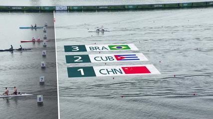 Isaquias Queiroz e Jacky Godmann chegam em terceiro j na classificatória do C2 1000m - Olimpíadas de Tóquio