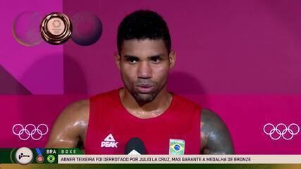 """""""Tô p***!"""", diz Abner Teixeira após perder luta e fica com a medalha de bronze"""