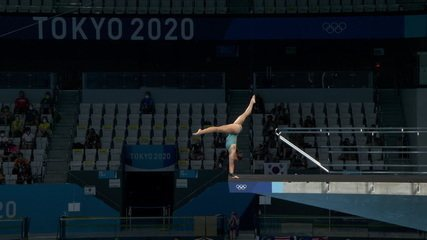 Ingrid Oliveira pontua 64.00 no segundo salto