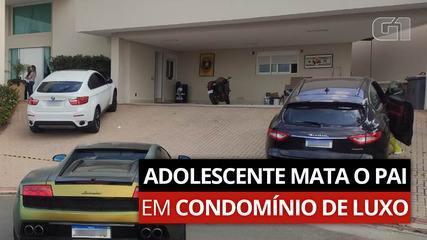 VÍDEO: Adolescente mata o pai em condomínio de luxo em Valinhos, SP; entenda