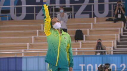 Rebeca Andrade será porta-bandeira do Brasil no encerramento dos Jogos de Tóquio
