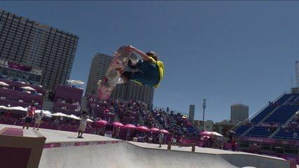 Australiano Keegan Palmer faz volta sensacional e tem nota 94.04 - Olimpíadas de Tóquio