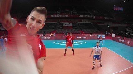 20 a 12: Veja como foi a virada do time russo no 3º set contra o Brasil no vôlei