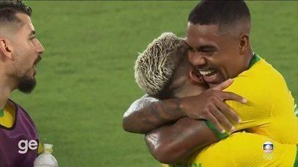Melhores momentos: Brasil 2 x 1 Espanha pela final do futebol - Olimpíadas de Tóquio
